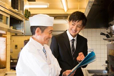 アンリミテッドのスタッフ勉強会(料理人)イメージ